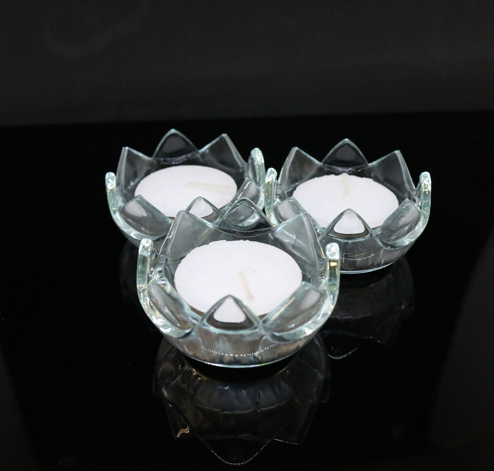 Unity Lotus Glow - Our new addition to the Lotus Glow Collection!  These awesome tealite candleholders glow like no other!