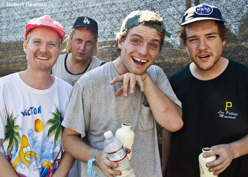 Mac DeMarco  and band.