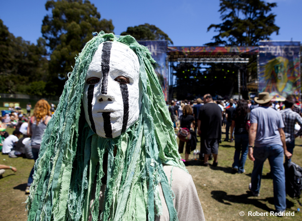 Outside Lands  creature , last spotted in 2012.