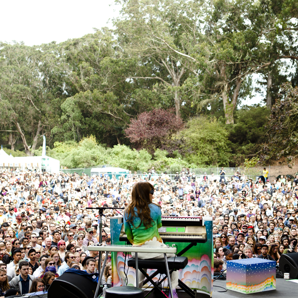 Jenny Lewis  plays the intimate Sutro stage.