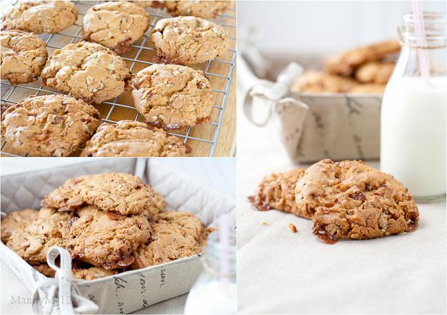 Pecan Caramel Cookies — What the Fruitcake?!