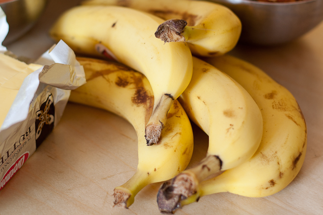 Use up those over-ripe bananas!