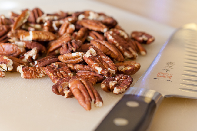 Roasted pecan nuts, mmmm!