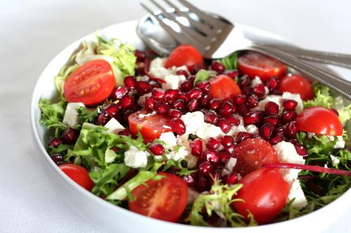 Pomegranate, Feta & Beetroot Salad