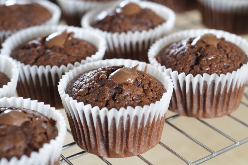 Cooled and filled with dreamy nutella