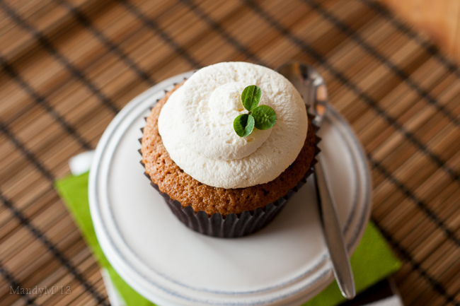 Irish Coffee Cupcakes — What the Fruitcake?!