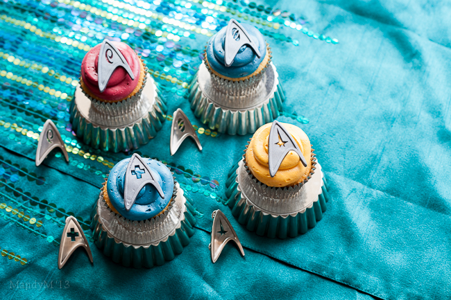 """Please Captain, not in front of the Cupcakes."""