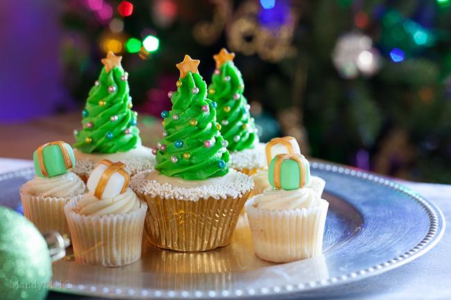 Christmas Tree Cupcakes What The Fruitcake