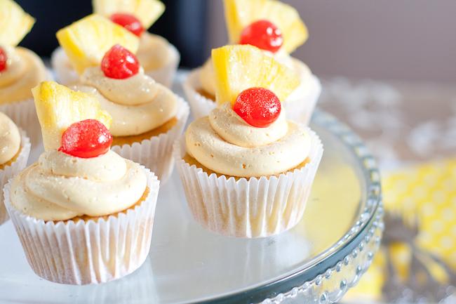 Flirtini cupcakes