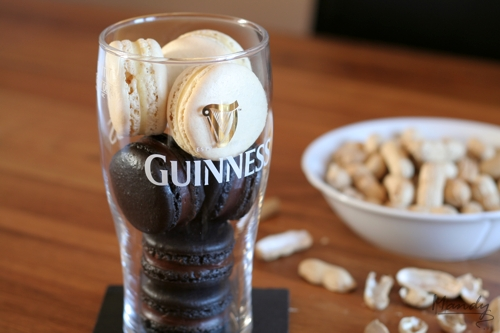 Have a Pint! Liquorice with Liquorice Dark Choc Ganache; Almond with Almond White Choc Ganache