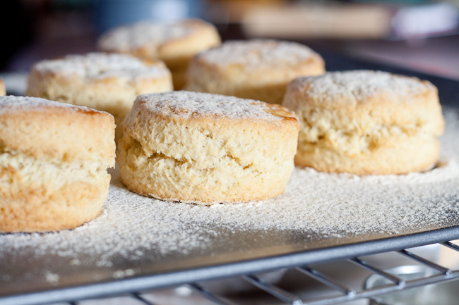 how to make scones rise
