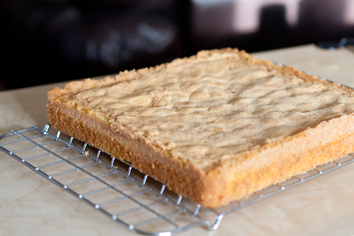 The moistest and most delicious almond cake