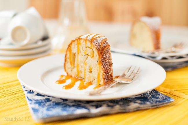 Apple & Rosemary 7 Cups Cake