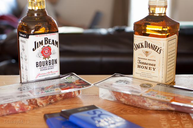 The bourbon showdown (and then chowdown)