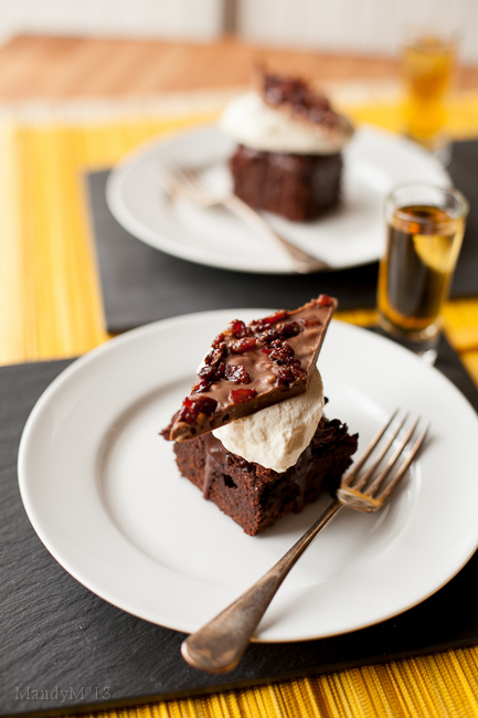Bourbon Bacon Brownies & Ep 4 of the Great Irish Bake Off