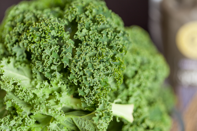 Curly, curly kale