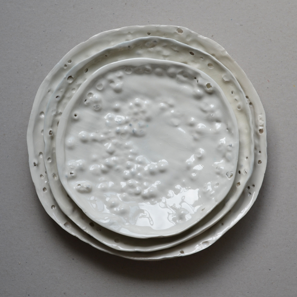 Fragility of Things Plate - Daniel van Dijck