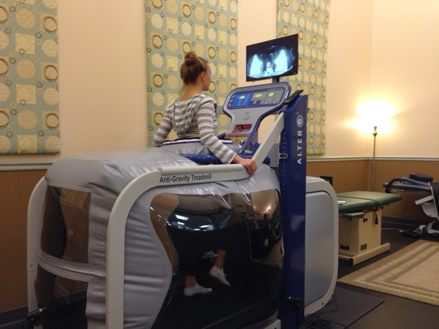 Physical Therapy in the Anti-Gravity Treadmill