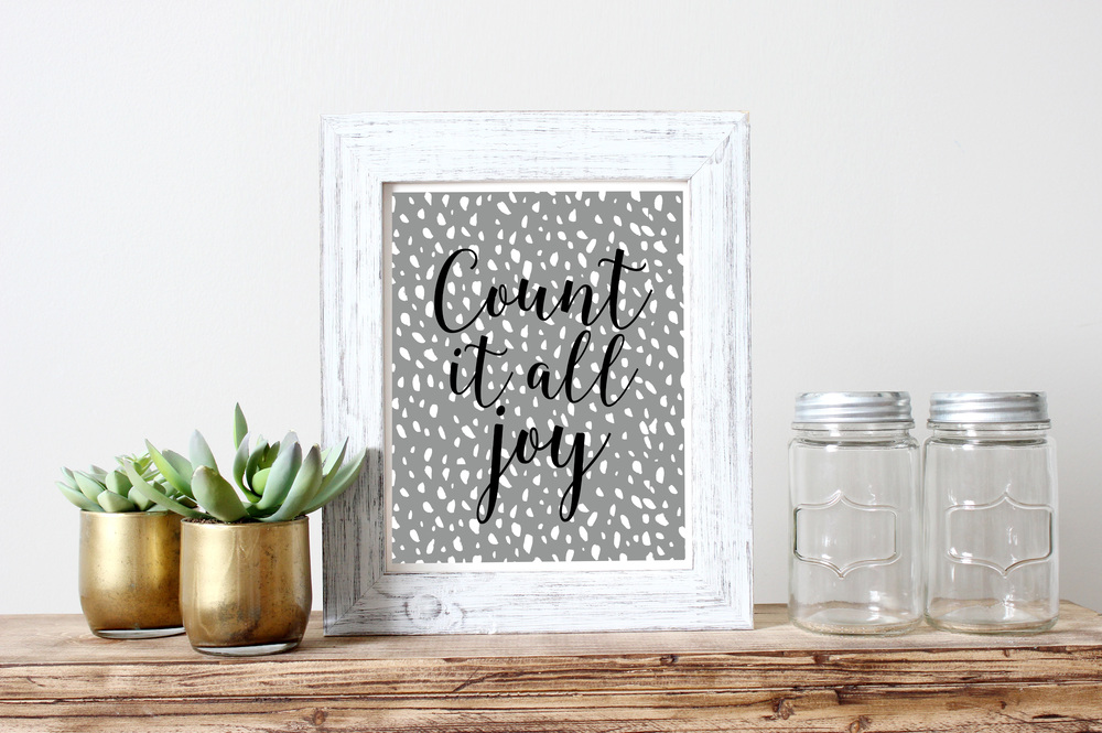 """Count it all joy,"" available  HERE ."