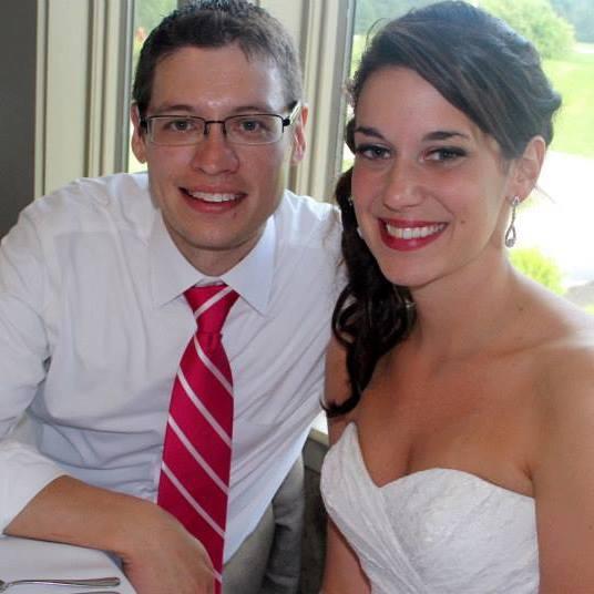Megan and her husband, Chris