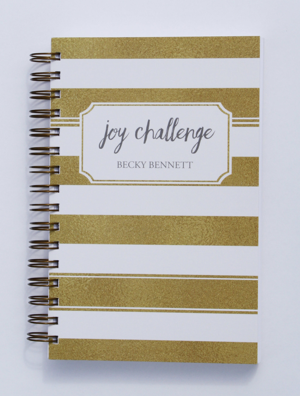 Joy Challenge_Women's Bible Study and Devotional Journal_Becky Bennett_To Choose Joy