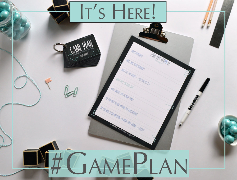 Game Plan_Time Out Dialogue_Parenting Series_Becky Bennett