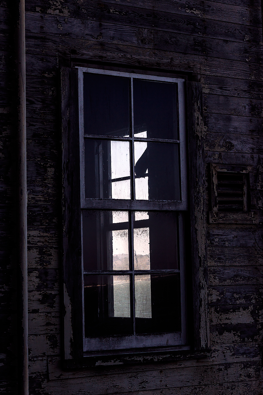 This is a window through one of the guard residences. Itt must have been hard to sleep with some of the most notorious criminals nearby while waves crash and wind pounds on the windows.