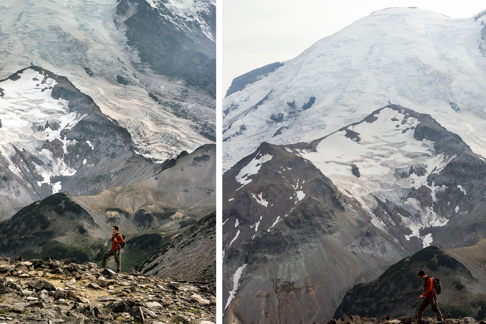 Shots from a hike up Burroughs Mountain in Mount Rainier National Park. Photographed by Jillian Raymundo.