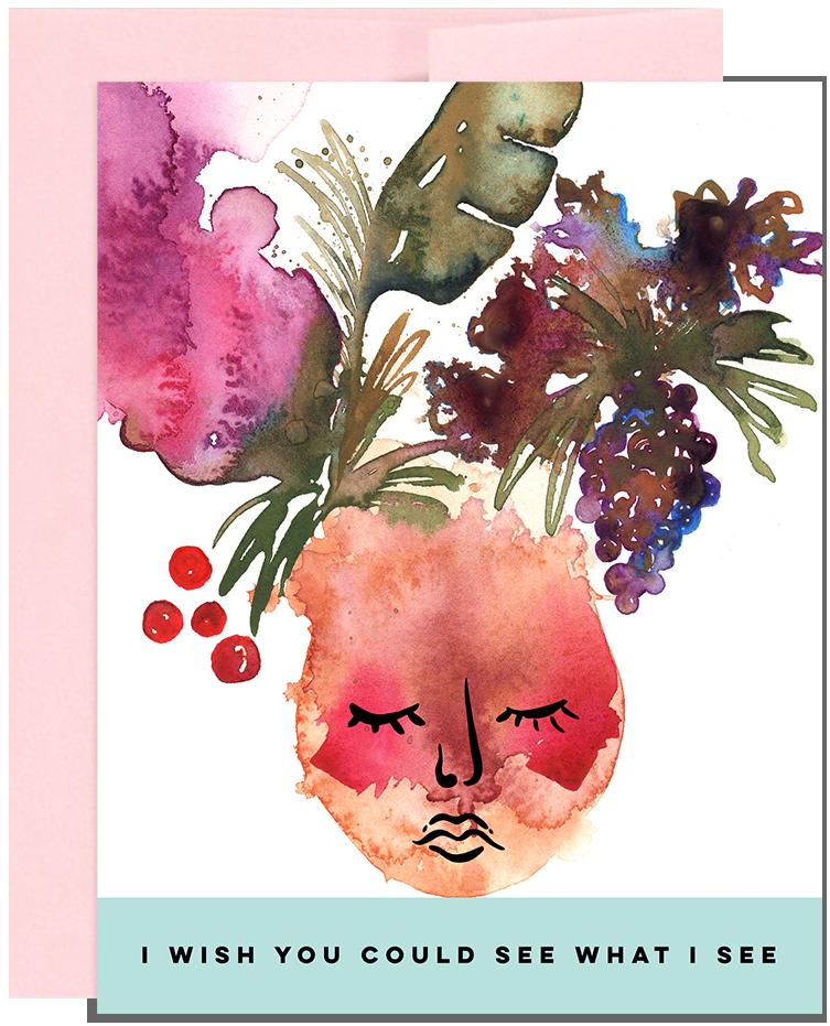 Greeting Card, Surface Pattern Design by Natasha Rose