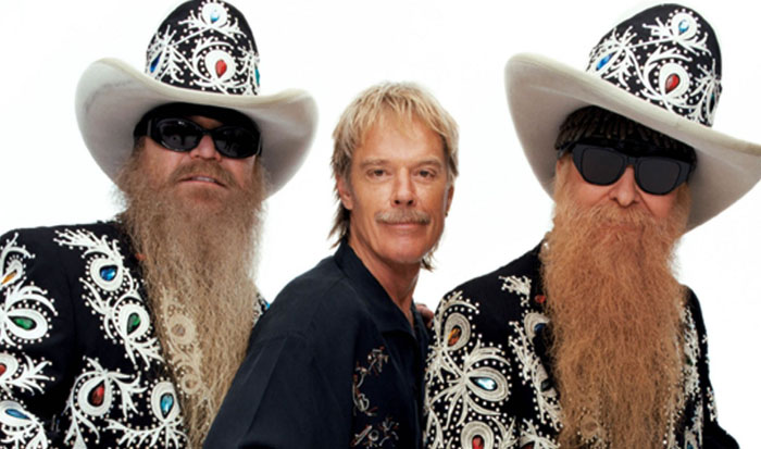 Frank Beard--guess which one?                               ZZ TOP