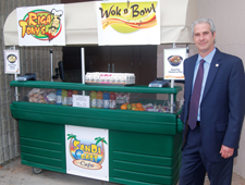 Gary Petill, California school food administrator