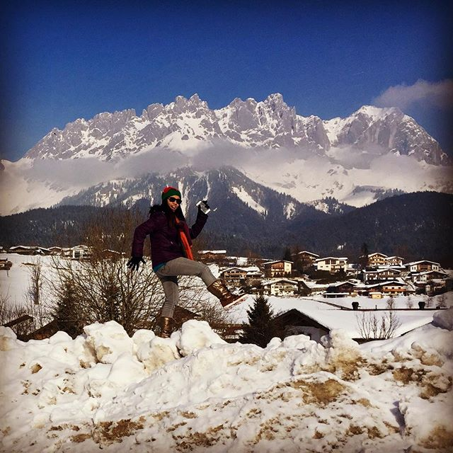 Fun in the snow #snownoy #alps