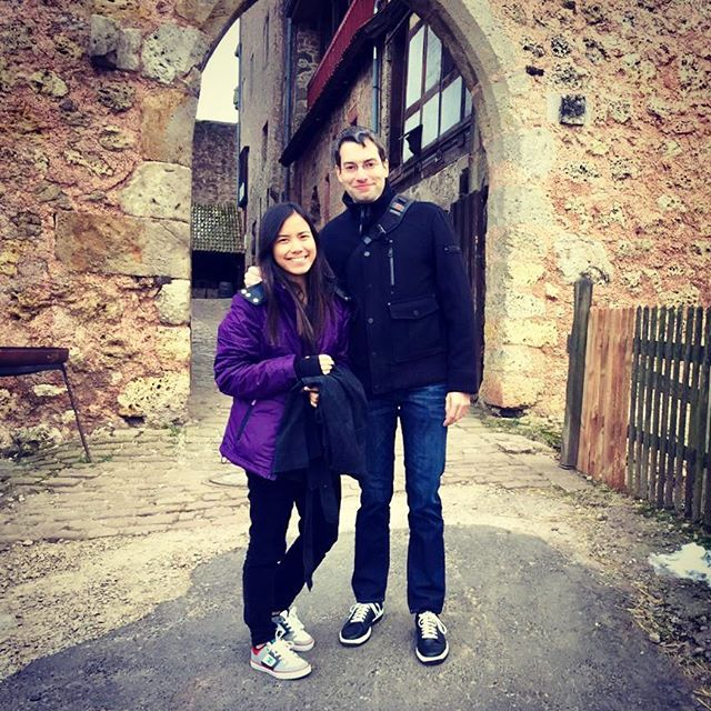 Castle time in a small medieval fortress in the middle of nowhere #middleages #castle #Germany
