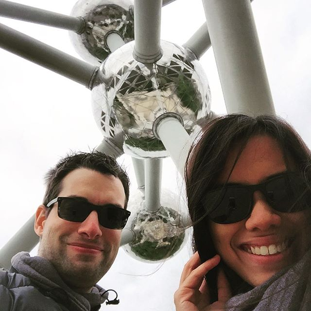 Welcome to the European capital, welcome to the Atomium. #teamjerice #belgium