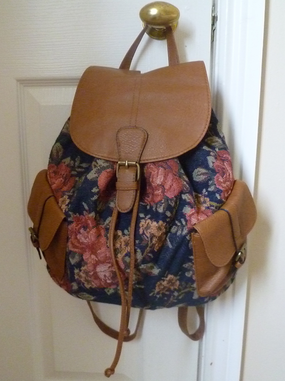 A fun backpack is 100% necessary for college, this cute floral one was €10 from Pennys/ Primark - Bargain!