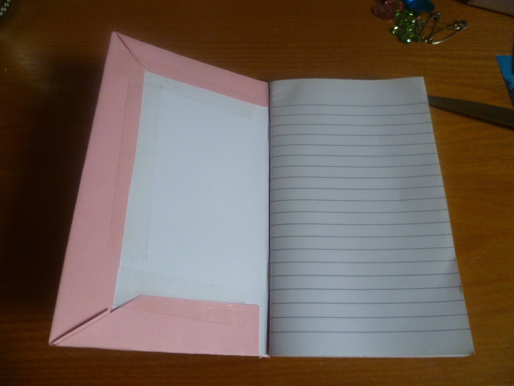 Pink card stuck down.JPG
