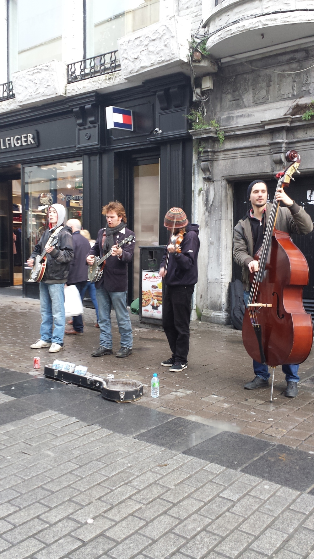 Buskers in Galway are always great