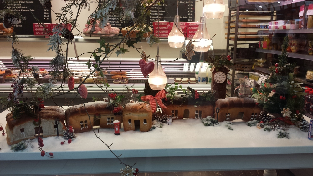 This bakery just outside of the city is so creative, look at what they've come up with to decorate for the season