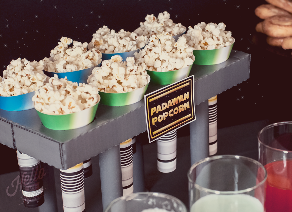 Star Wars Party - Light Saber Treat Cones