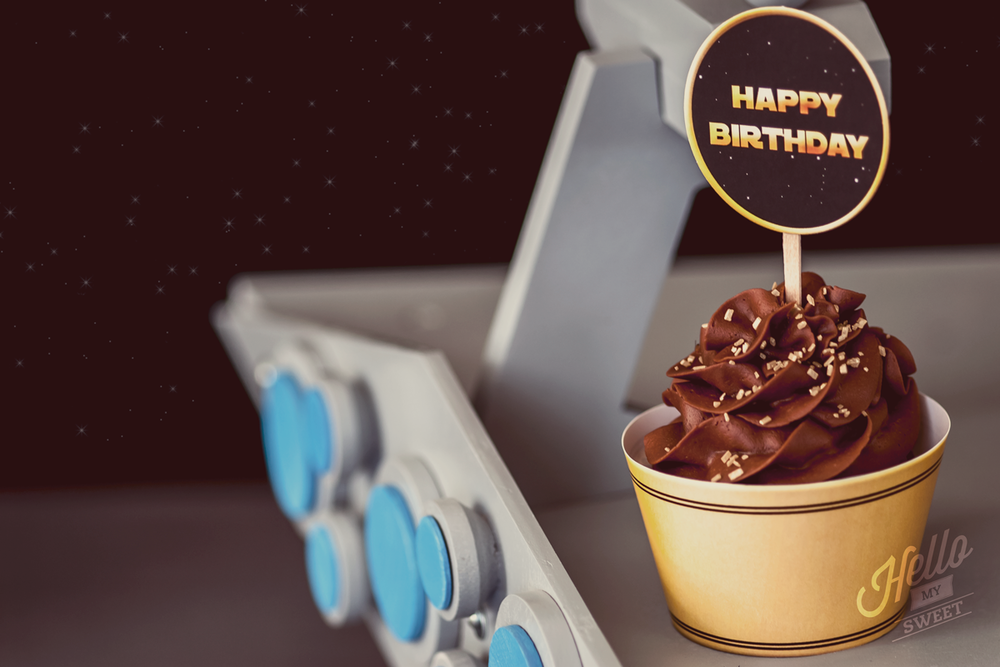 Star Wars Party - Printable Cupcake Toppers