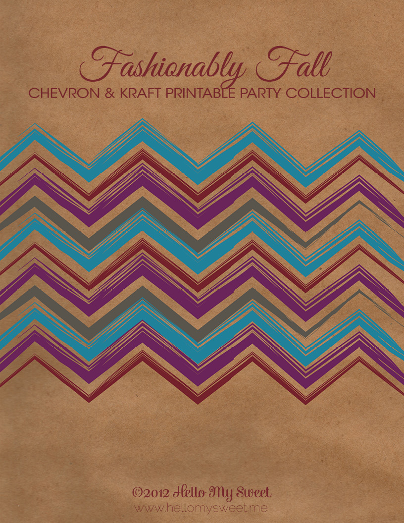 Click to download the Fashionably Fall printable PDF.