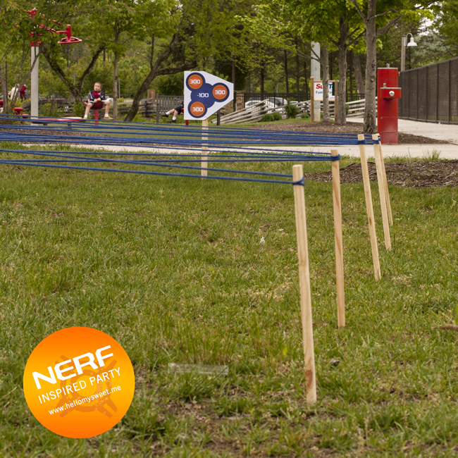 Nerf Party Games, Obstacle Course u2014 Hello My Sweet