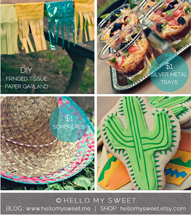 Cinco De Mayo Party Ideas Dollar Store Birthday