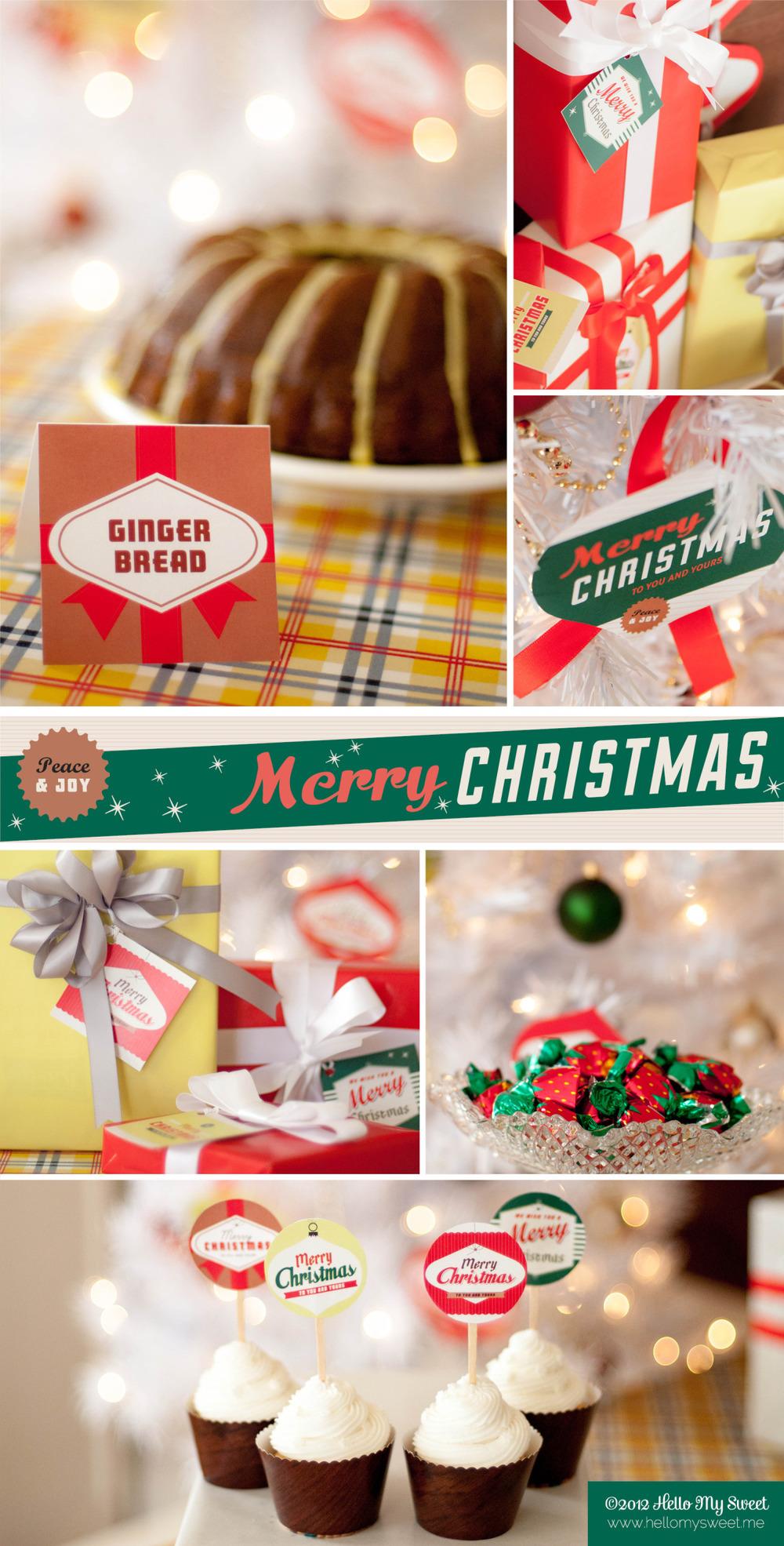 Retro 50's Style Christmas Party — Hello My Sweet