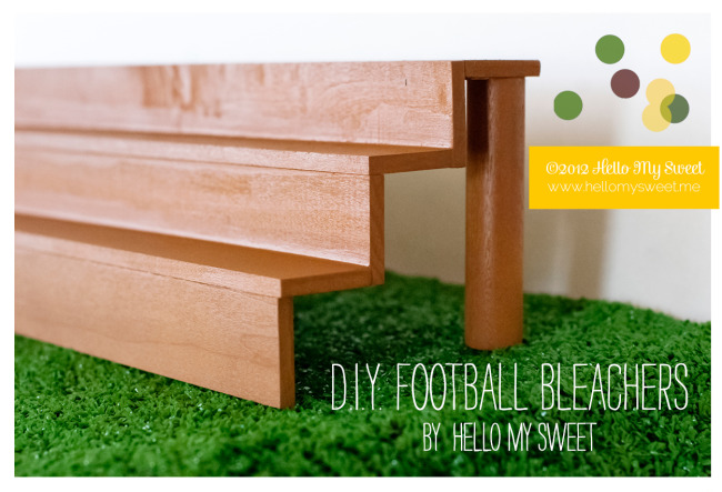 How To Make Bleachers For A Cake