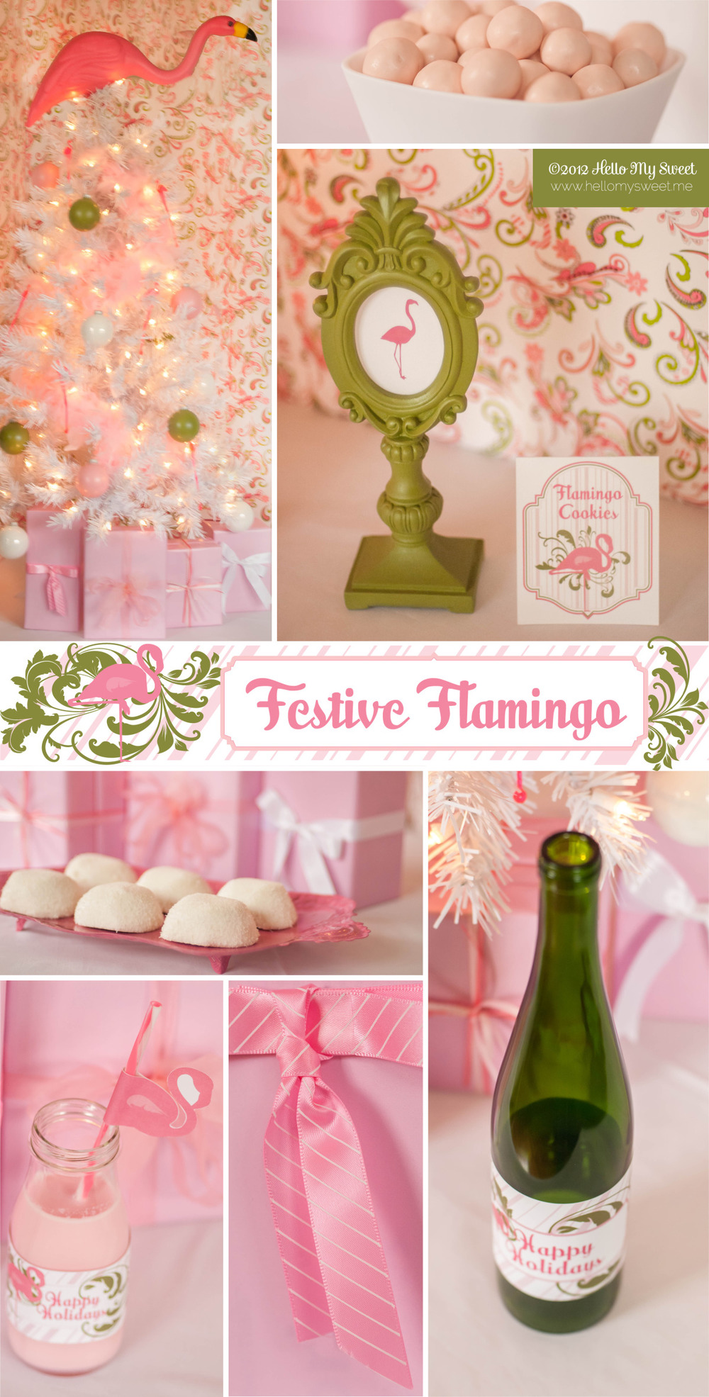 Festive Flamingo Party