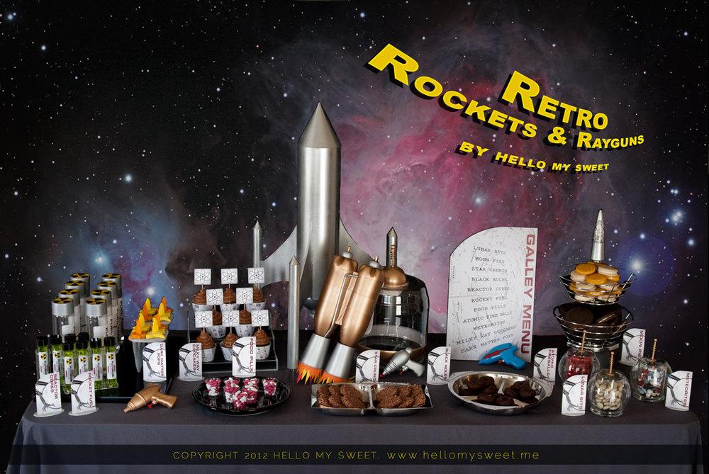 Astronaut Retro Space Party