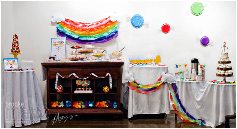 Candy Land & Rainbows Party