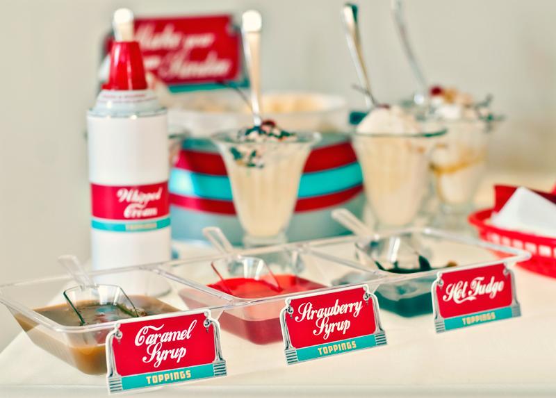 Retro 50s Diner Party Hello My Sweet
