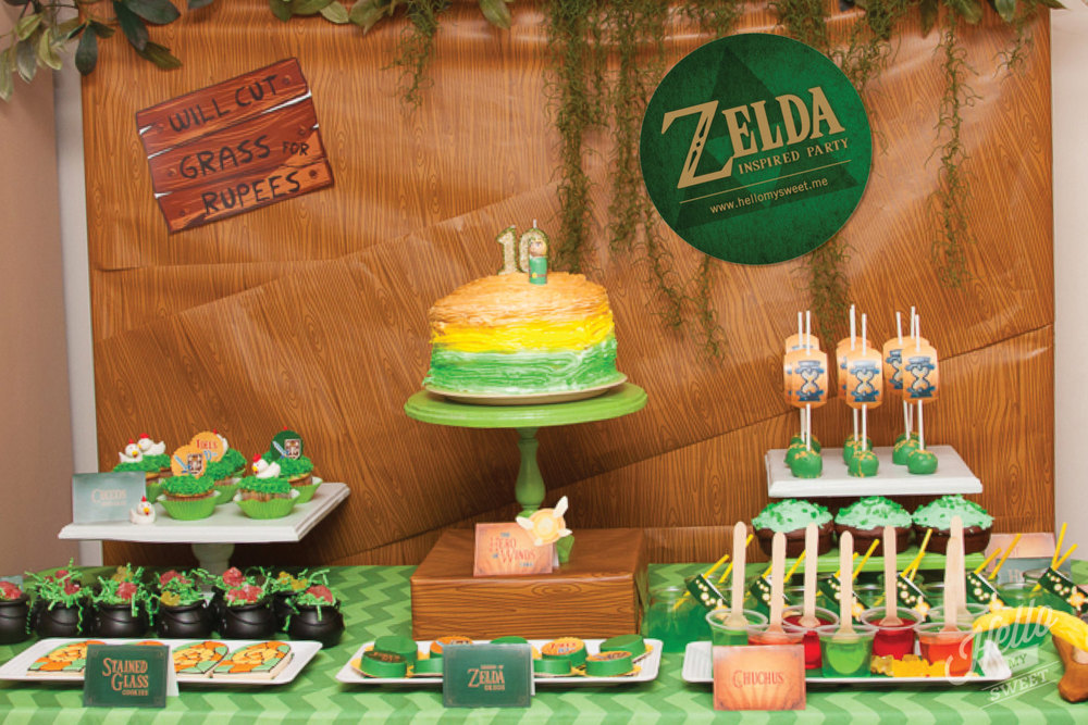 Zelda birthday party printables hello my sweet zelda birthday party printables stopboris Choice Image